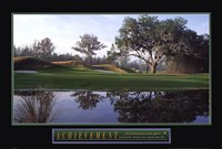 "Achievement-Golf by Mali Nave - 36"" x 24"""