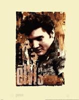 """Elvis Slick by Mali Nave - 22"""" x 28"""", FulcrumGallery.com brand"""