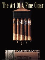 Art of a Fine Cigar Fine Art Print