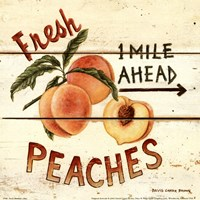 Fresh Peaches Fine Art Print