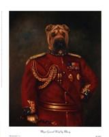 Major-General Woof Framed Print