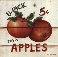 U-Pick Apples Fine Art Print