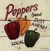 Sweet Peppers Fine Art Print
