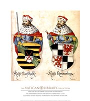 Two Kings With Sword And Javelin Fine Art Print