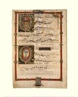 Polyphonic Hymns Magnificats (Tenor) Fine Art Print