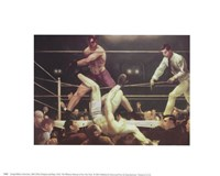 Dempsey And Firpo Fine Art Print