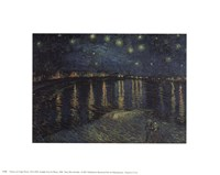 Starlight Over The Rhone, 1888 Fine Art Print