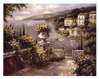 Capri Vista II Fine Art Print