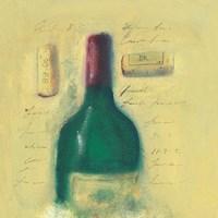 Red Wine Bottle Fine Art Print