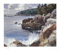 Rocky Coast Fine Art Print