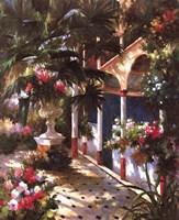"""Garden Atrium l by Vera Oxley - 22"""" x 28"""""""