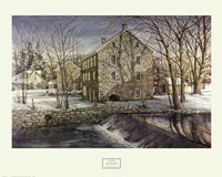 """Mill in the Morning by Dan Campanelli - 30"""" x 24"""""""