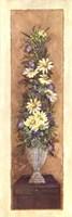 "Floral Bouquet II by Charlene Winter Olson - 12"" x 36"""