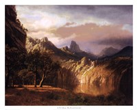 In The Valley Fine Art Print