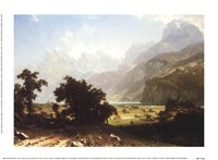 Lake Lucerne Fine Art Print