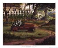 "Hero's Garden by Michael Humphries - 22"" x 18"""