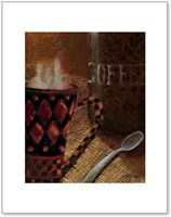 Still Life with Coffee II Fine Art Print