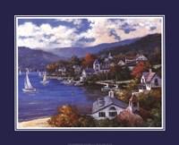 """Coastal Town by T.C. Chiu - 20"""" x 16"""" - $11.49"""