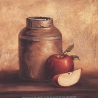 Crock With Apples Fine Art Print