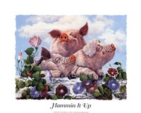 Hammin' It Up Fine Art Print