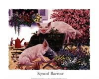 Squeal Barrow Fine Art Print