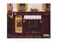 Oldest Wine Store Fine Art Print