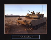 Authority - Tank Fine Art Print