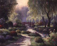 Path To Willow Park Fine Art Print