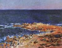 Grande Bleue a Antibes, 1888 Fine Art Print