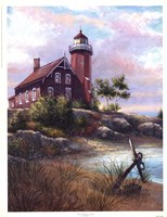 Eagle Harbor Light Fine Art Print