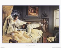 Angel Of Hope And Healing Fine Art Print