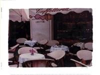 "Caffetteria by Judy Mandolf - 7"" x 5"" - $9.99"