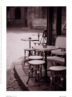 Cafe De Paix Framed Print
