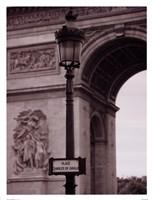 L'Arc De Triomphe Fine Art Print