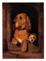 "Dignity And Impudence by Sir Edwin Henry Landseer - 20"" x 26"""