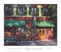 Spring Street I Fine Art Print
