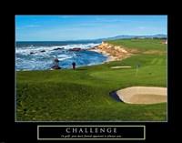 Challenge - Golf Fine Art Print