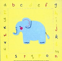 "Alphabet Animals II by Sophie Harding - 8"" x 8"""