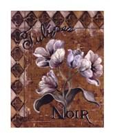 Tulipes Noir Fine Art Print