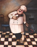 Chef II Fine Art Print