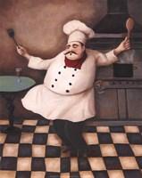 "Chef III by T.C. Chiu - 8"" x 10"", FulcrumGallery.com brand"