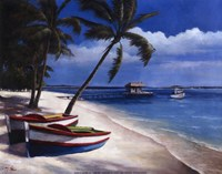 Two Boats Fine Art Print