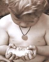 Little Boy - Love Fine Art Print