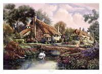 Village Of Dorset Fine Art Print