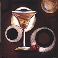 "Manhattan Cocktail by Susan Osborne - 12"" x 12"", FulcrumGallery.com brand"