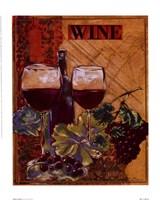 """World Of Wine I by Susan Osborne - 10"""" x 12"""""""