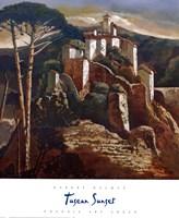 Tuscan Sunset Fine Art Print