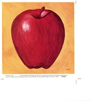 Apple on Lemon Fine Art Print