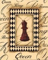 Chess Queen - Mini Fine Art Print