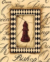 Chess Bishop - Mini Fine Art Print